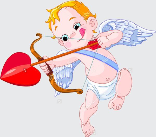 Valentines Day Cupid Clip Art