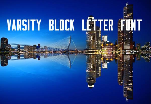 9+ Block Letter Fonts - Free TTF, OTF Format Download