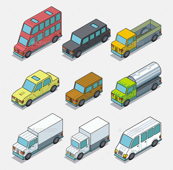 Vector Car Icons