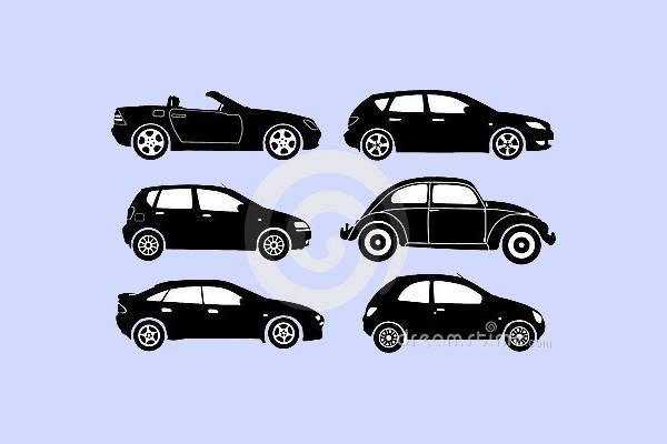 Vector Car Silhouette