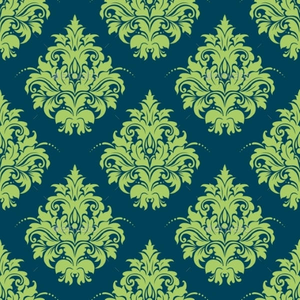Vector EPS Damask Pattern