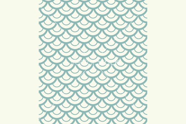 Vector Fish Scale Pattern