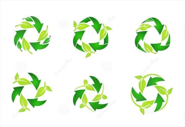 Vector Recycle Logo Design