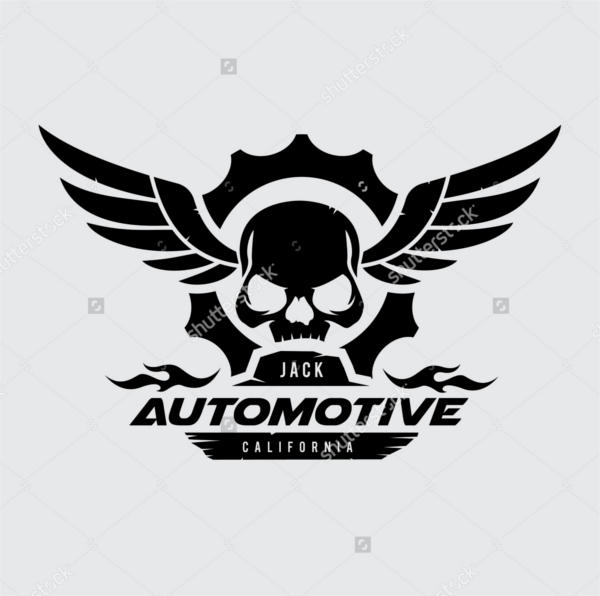 Vector Skull Logo Design