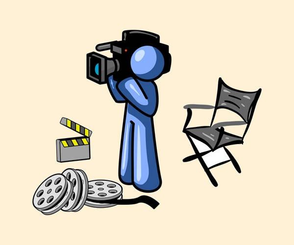 Video Camera Clip Art