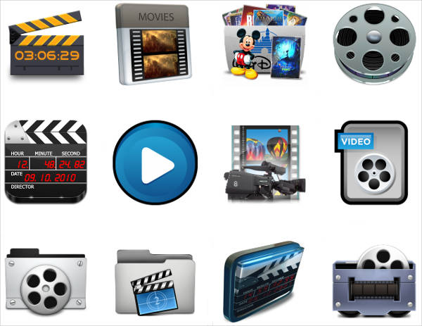 Video Studio Icons