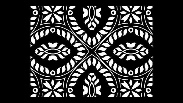 Vintage Black Pattern