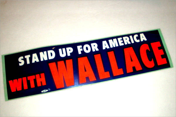 Vintage Bumper Sticker