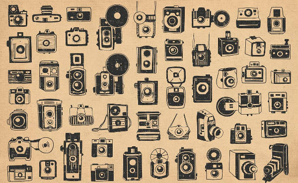 Vintage Camera Icon Pack