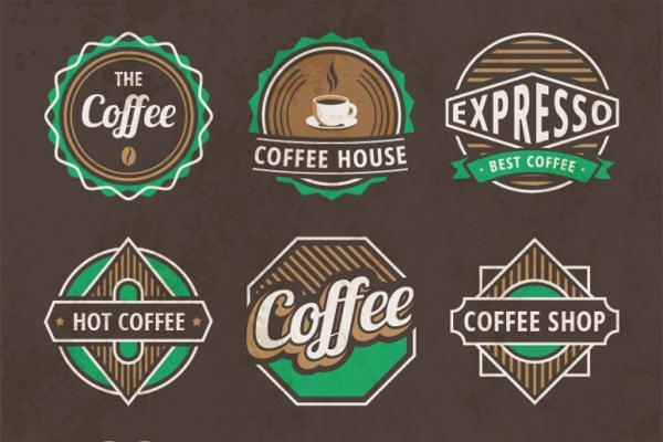 Vintage Coffee Logo
