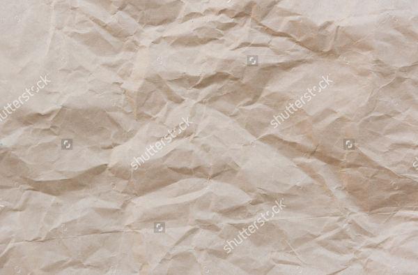 Vintage Crumpled Paper Texture