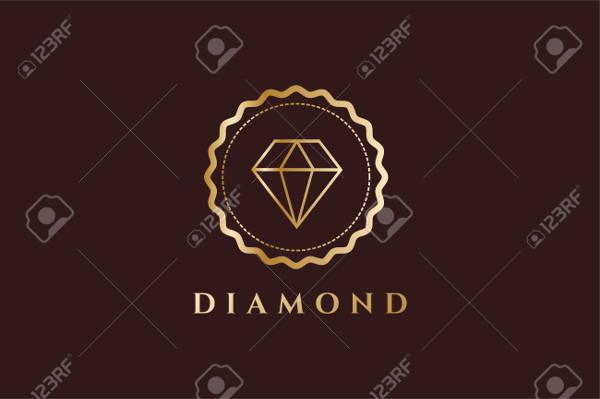 Vintage Diamond Logo