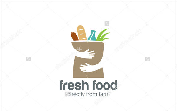 Vintage Food Logo