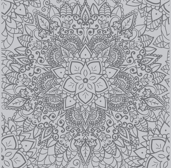 Vintage Mandala Pattern Design