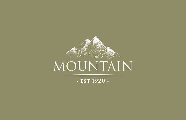 Vintage Mountain Logo