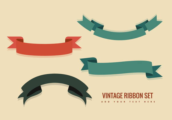 Vintage Ribbon Vector