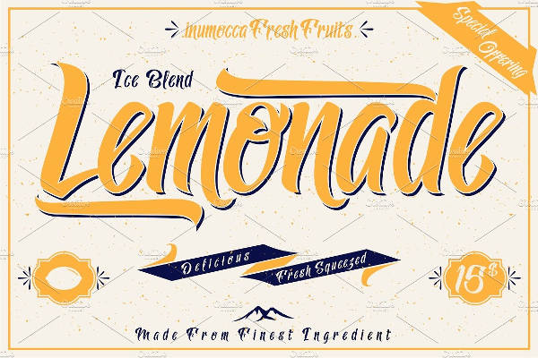 Vintage Style Fonts