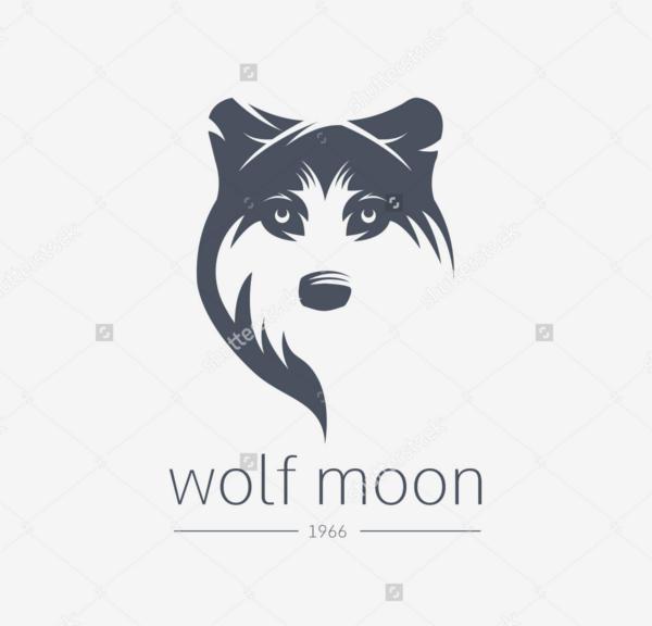 Vintage Wolf Logo