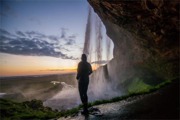 Waterfall Portrait Photography
