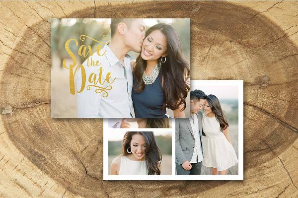 Engagement Party Photo Invitation