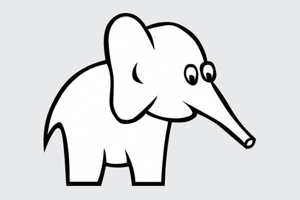 White Elephant Clip Art