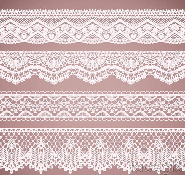 White Lace Pattern Design