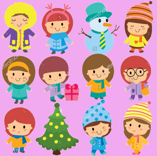 Winter Clipart for Kids