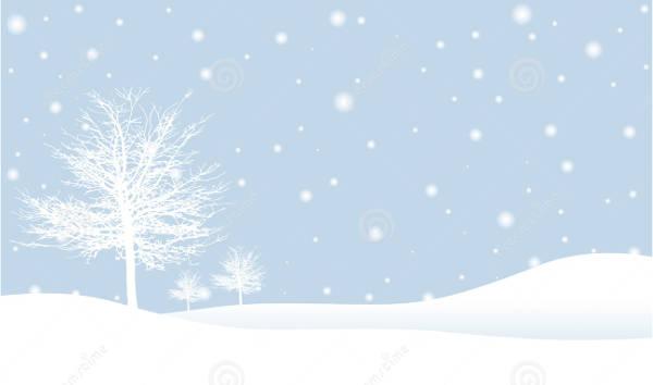 Winter Scenes Clipart