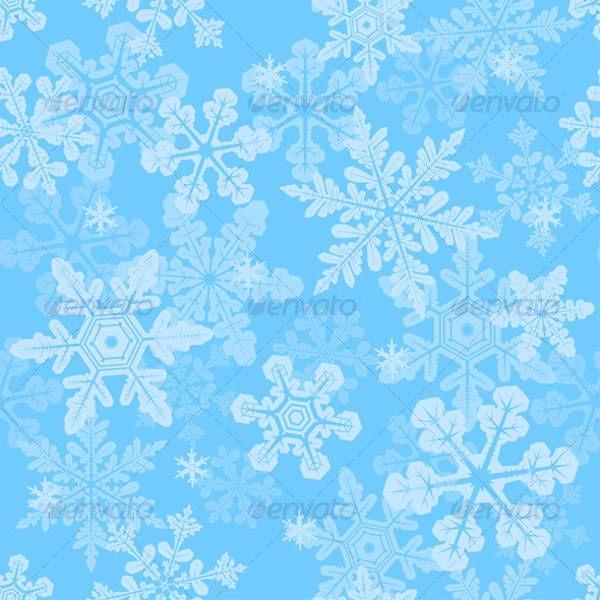 Winter Snowflake Texture