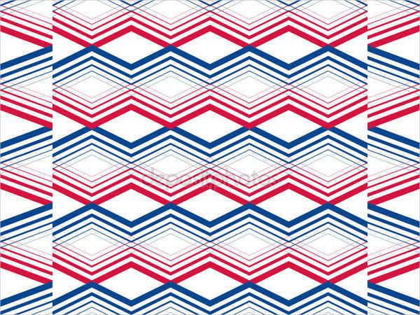 Zig Zag Geometrical Pattern