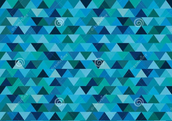 Zig Zag Triangular Pattern