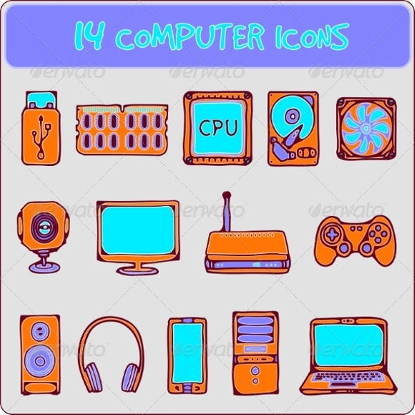 computer Wireless icons