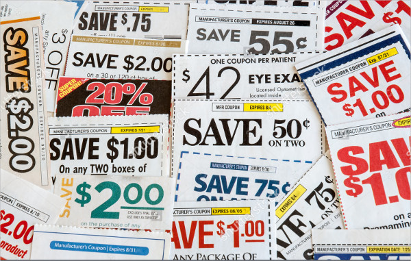 multi valued grocery coupons