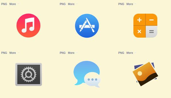 Mac Icon Sets