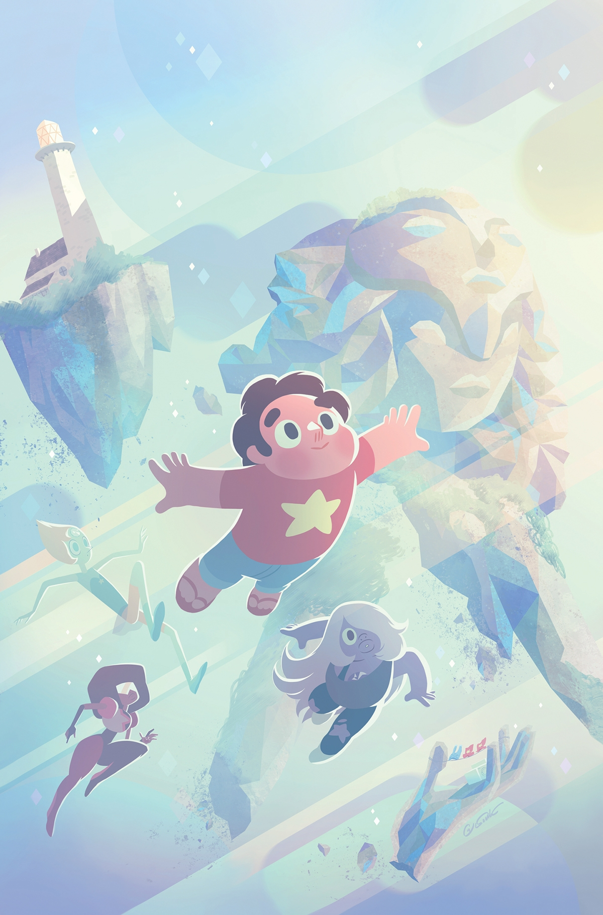 Steven Universe Illustrated Design