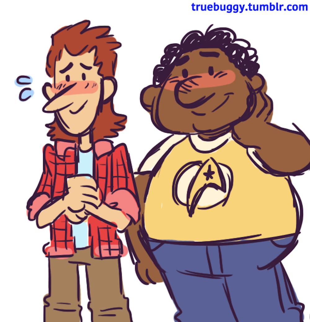 Howard and Harold McBride Character Design