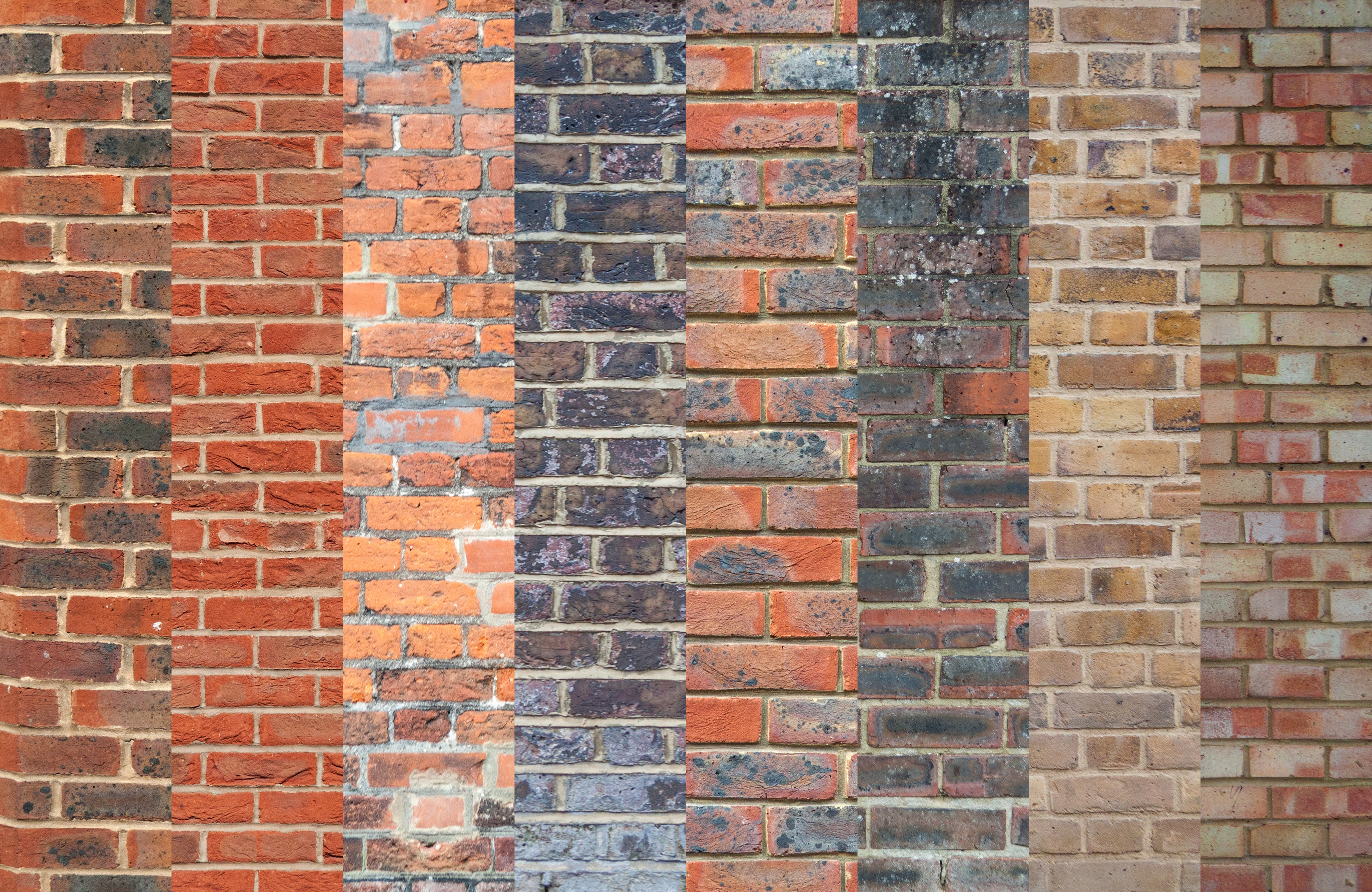 Brick Wall Textures and Backgrounds