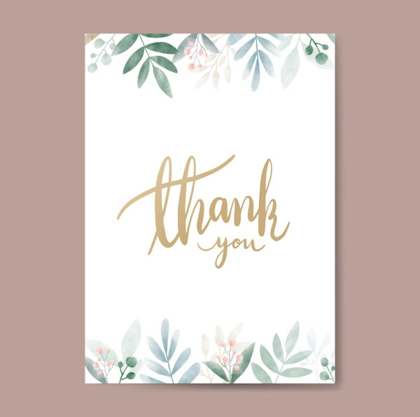 Thank You Card for Father's Day