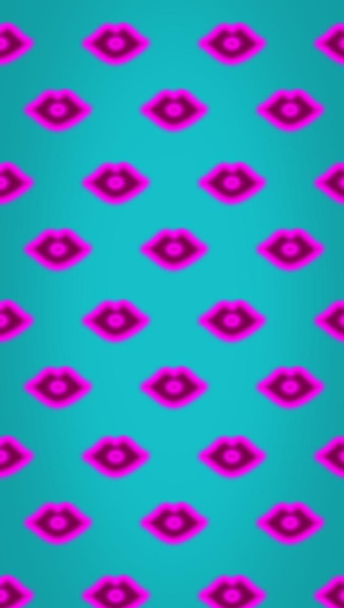 Lips Pattern Background