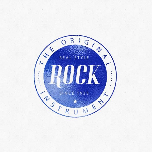 Rock Emblem Logo