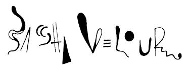 Sasha Velour Lettermark Logo