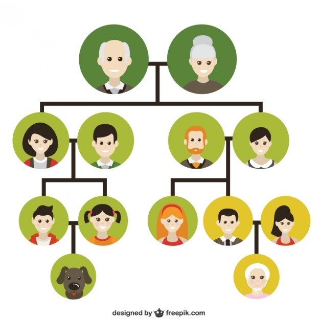 Family Tree by Generations