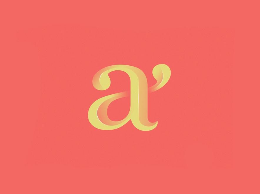 A Lettermark Logo