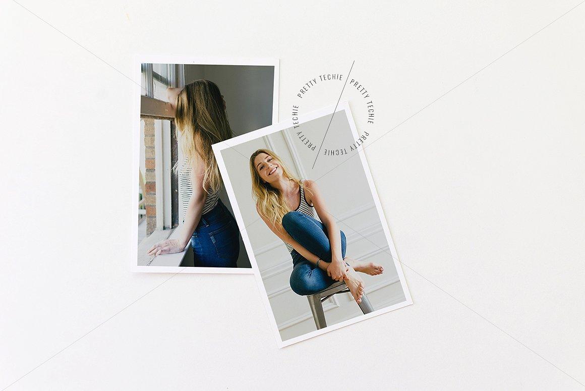 Photographic Polaroid Photo Frame