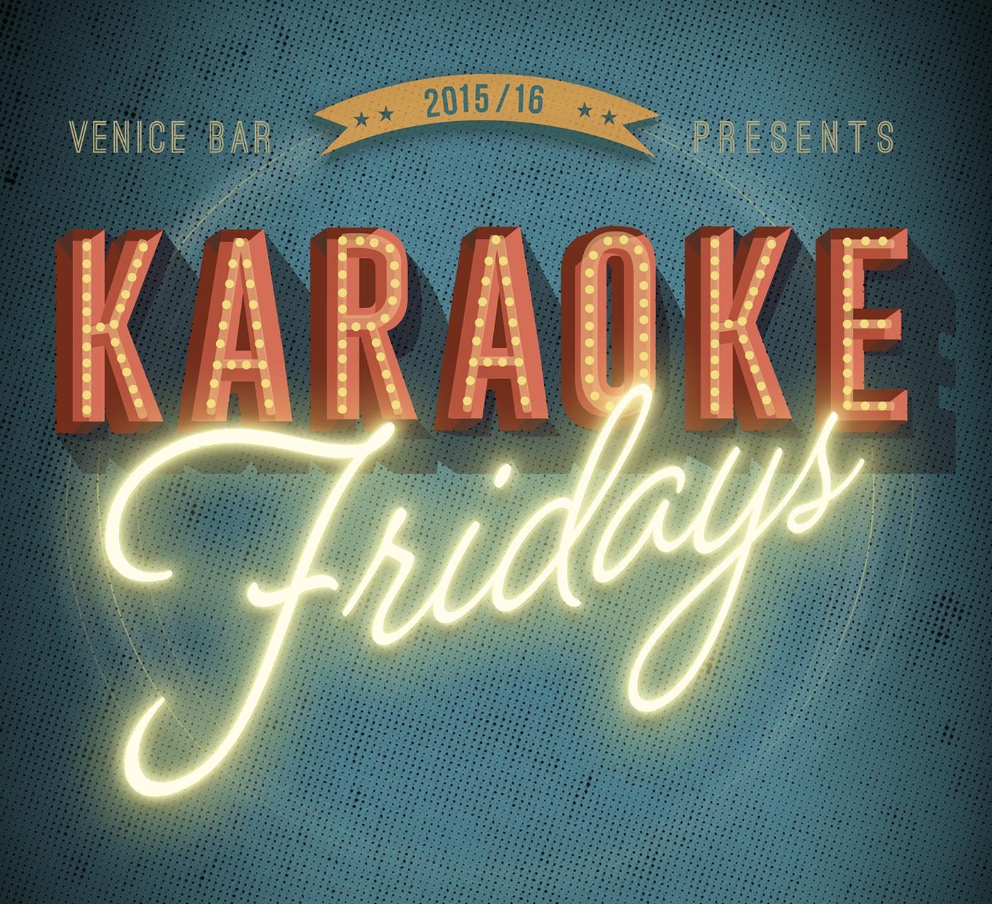 Karaoke Friday Poster