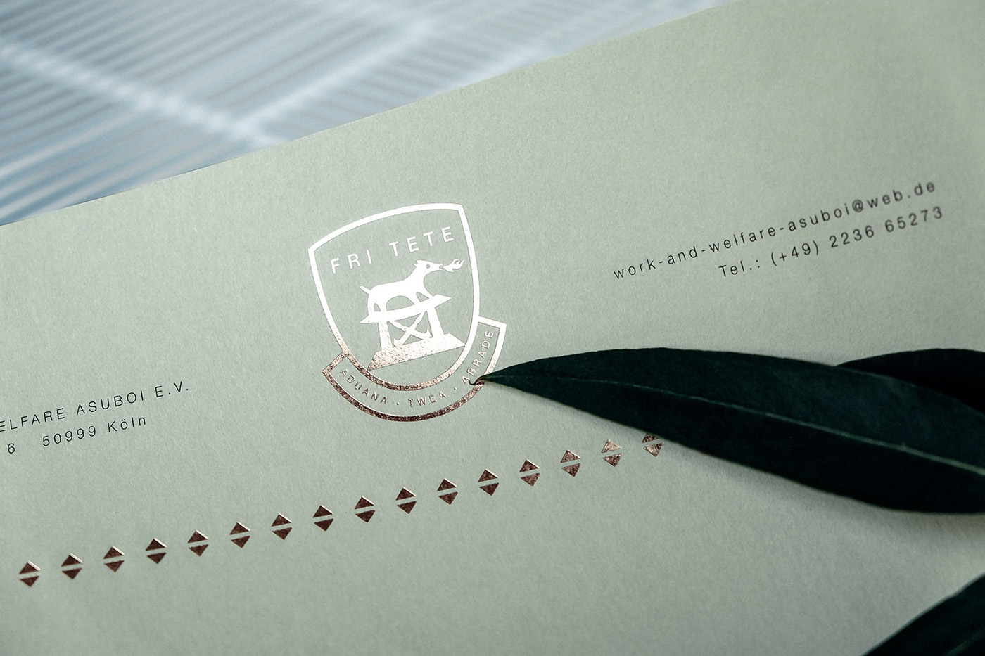 Stationary Design – A Royal Letterhead