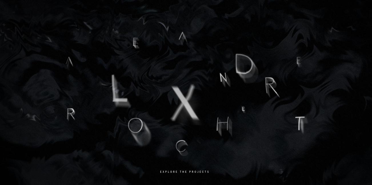 Alexandre Rochet Design Portfolio