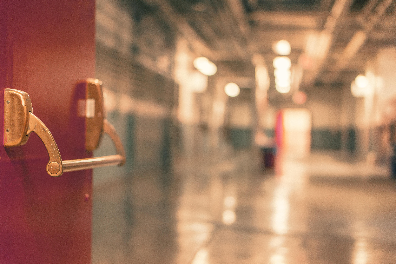 Corridor Blur Background