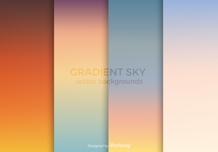 Free Gradient Vector Backgrounds