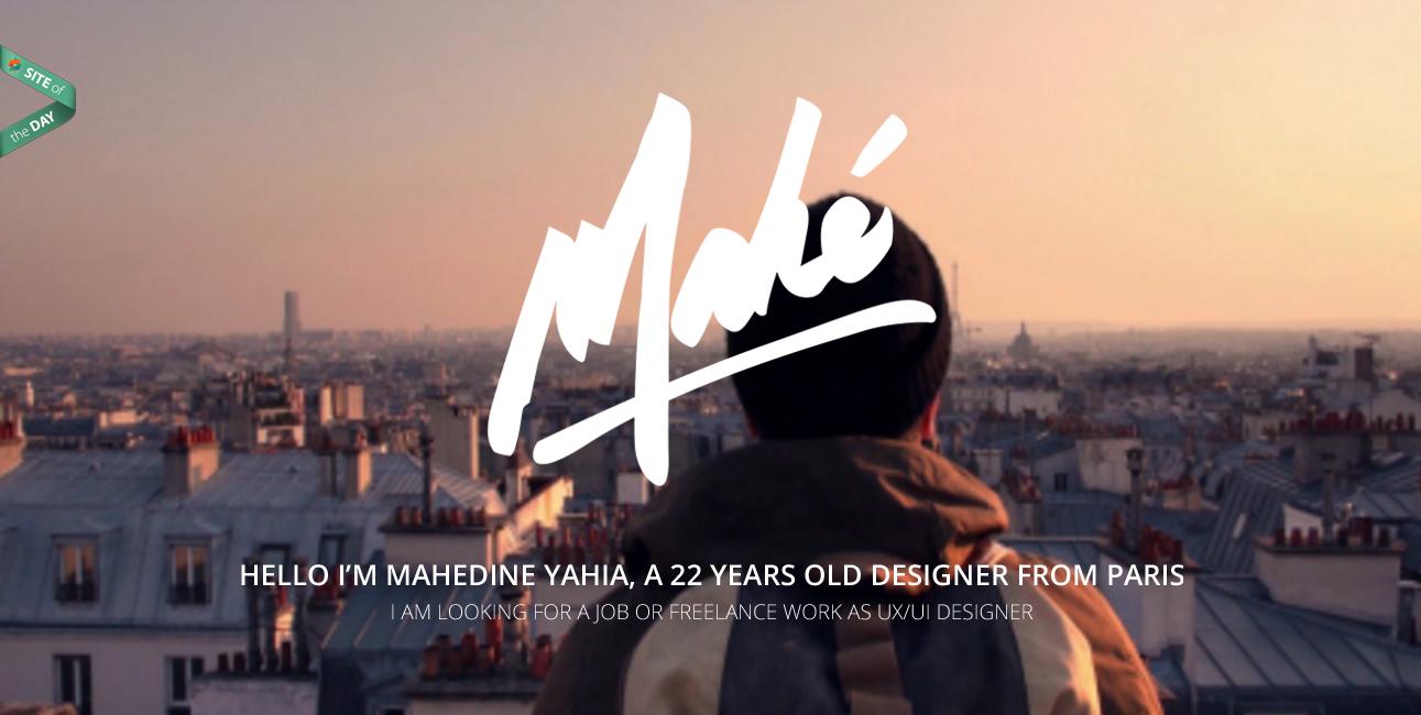 Mahedine Yahia Design Portfolio